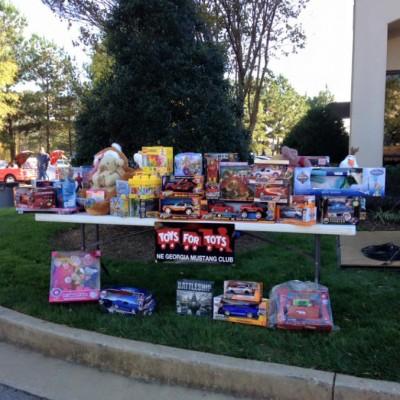 2015 Toys for Tots at Mustangs Unlimited