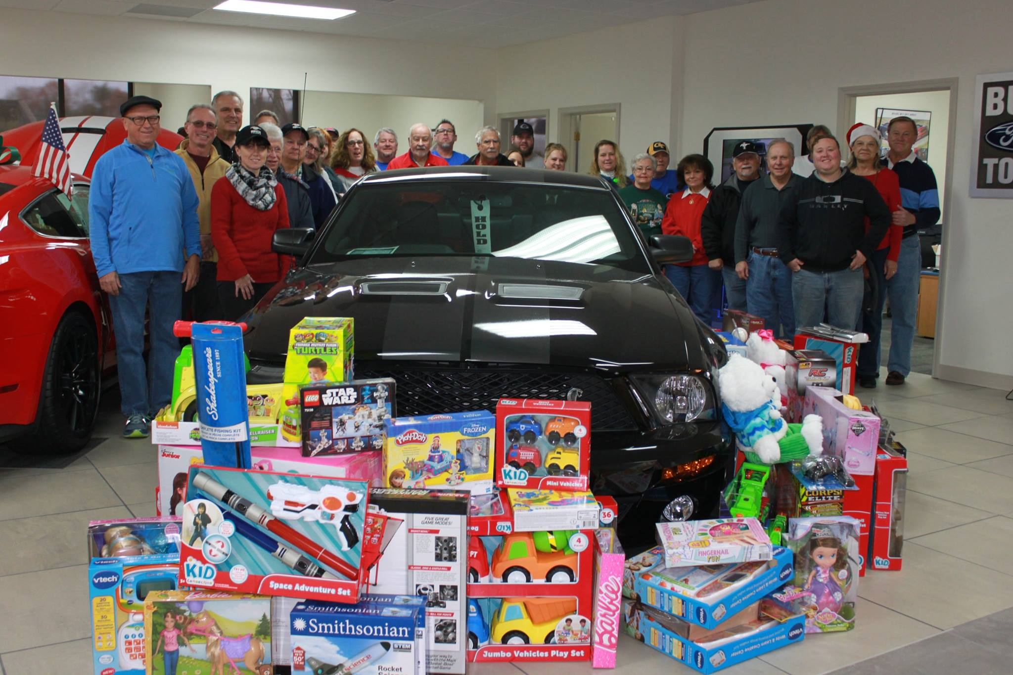Toys For Tots 2017 Application : Negmc toys for tots shopping trip northeast georgia