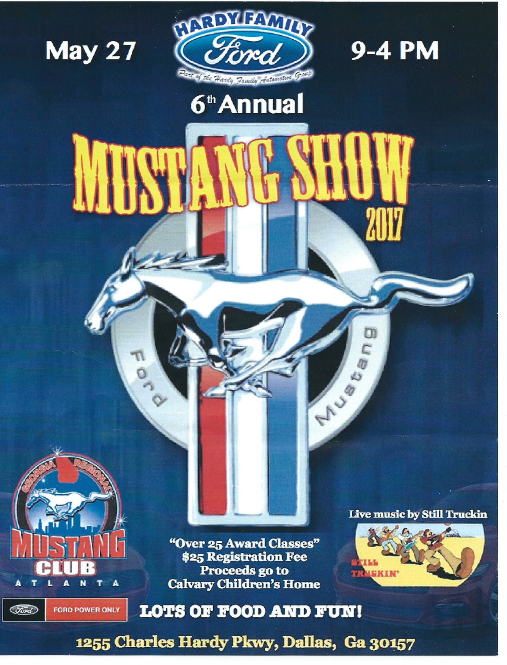 5 27 Hardy Family Ford Mustang Car Show Dallas Ga Northeast