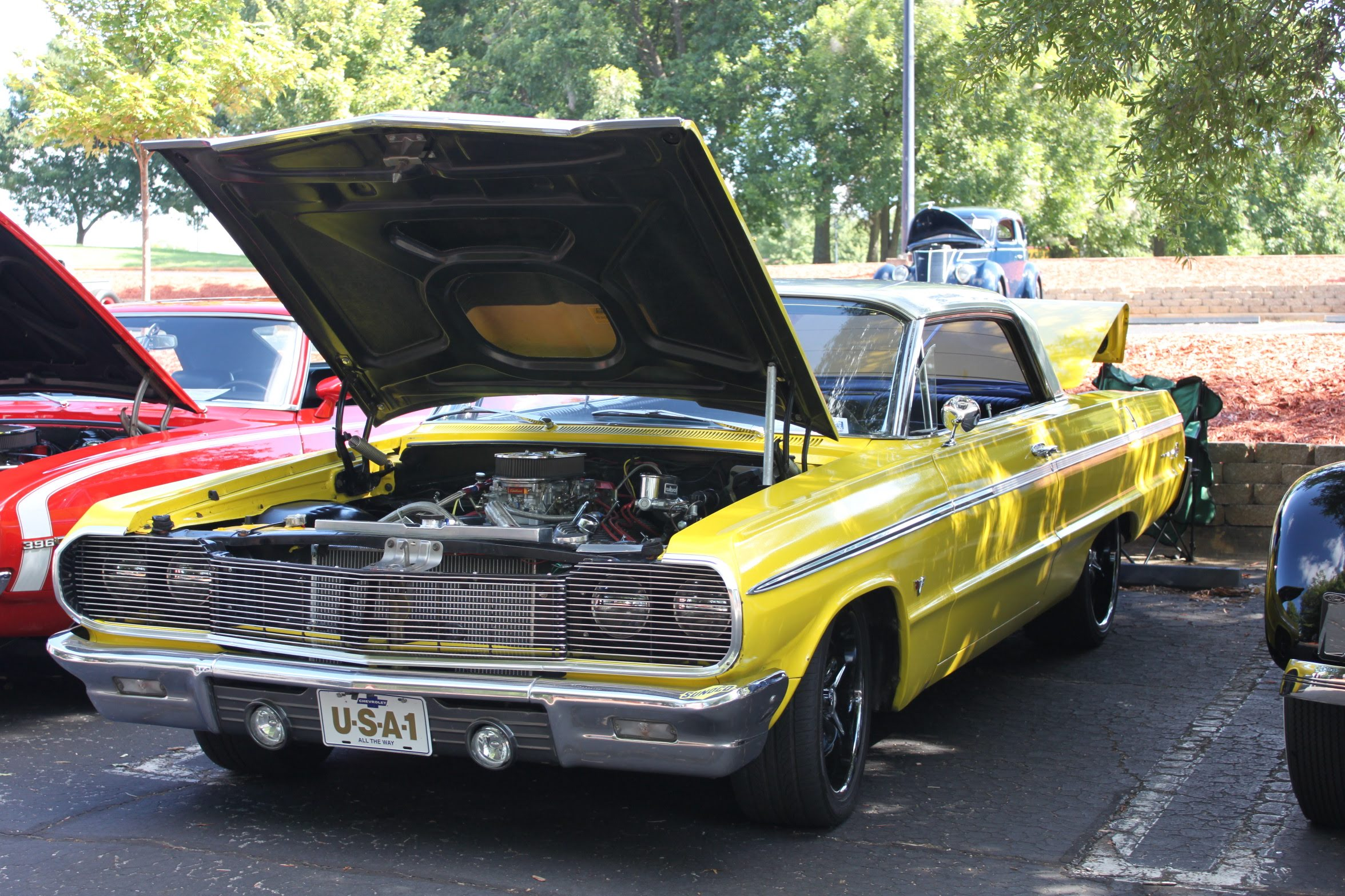 Hall County Sheriff Car Show